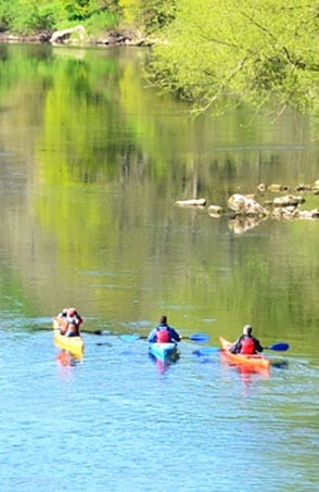 River Wye kayaking trips