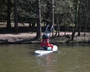 Headstand on Stand Up Paddleboard Way2Go Adventures