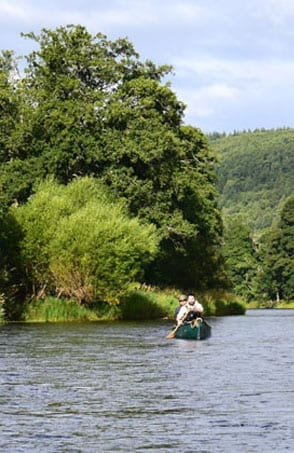 Canoeing on the River Wye - Way2Go Adventures
