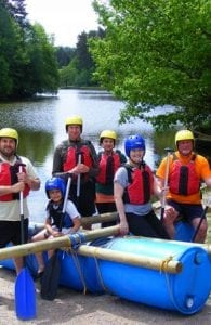 Raft Building Way2Go Adventures