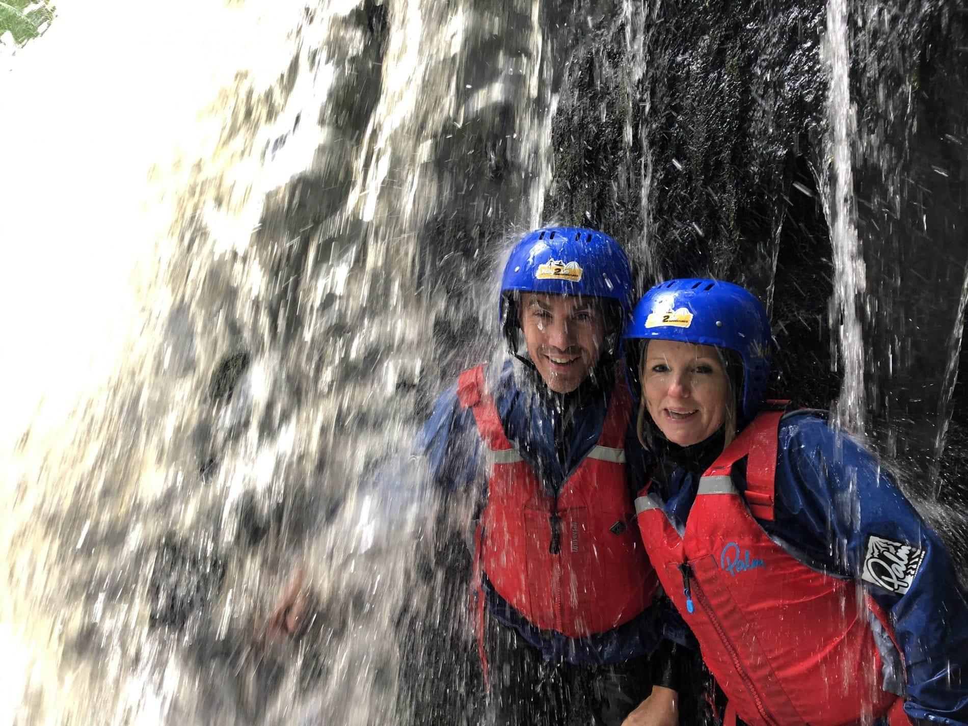 Way2Go Adventures - Gorge Walking - Brecon Beacons